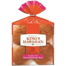 King's Hawaiian Hamburger Buns