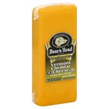 Boars Head Vermont Yellow Cheddar (per lb)