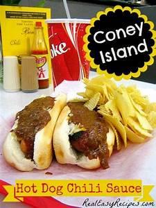 Coney Island Hot Dog Chili Sauce