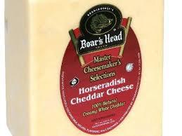 Boars Head Horseradish Cheddar (per lb)