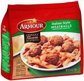 Armour Italian Style Meatballs