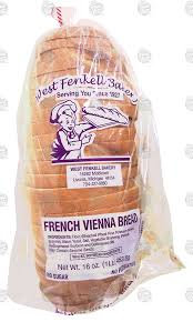 West Fenkell Bakery French Vienna Bread