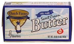 Dutch Farms Sweet Cream Butter  (each)