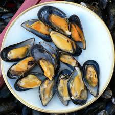 Mussels  2 pound bag each