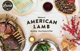 American Lamb  (per lb)