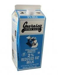 Guernsey 2% Milk (half gallon)
