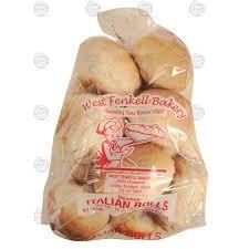 West Fenkell Bakery Italian Rolls