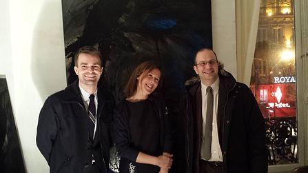 Marie De Rocca Serra, Bruno Julliard, Romain Lévy, jour et nuit culture, Rocca Serra, Mairie de Paris