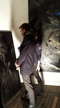 Bruno Julliard, Marie De Rocca Serra, Jour et Nuit,Mairie de Paris, ateliers St Michel