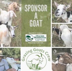 Sponsor the 'Grazing Goats Crew'