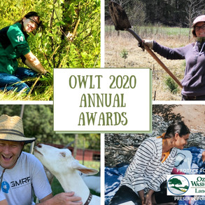 OWLT Annual Awards Announcements - GivingTuesday