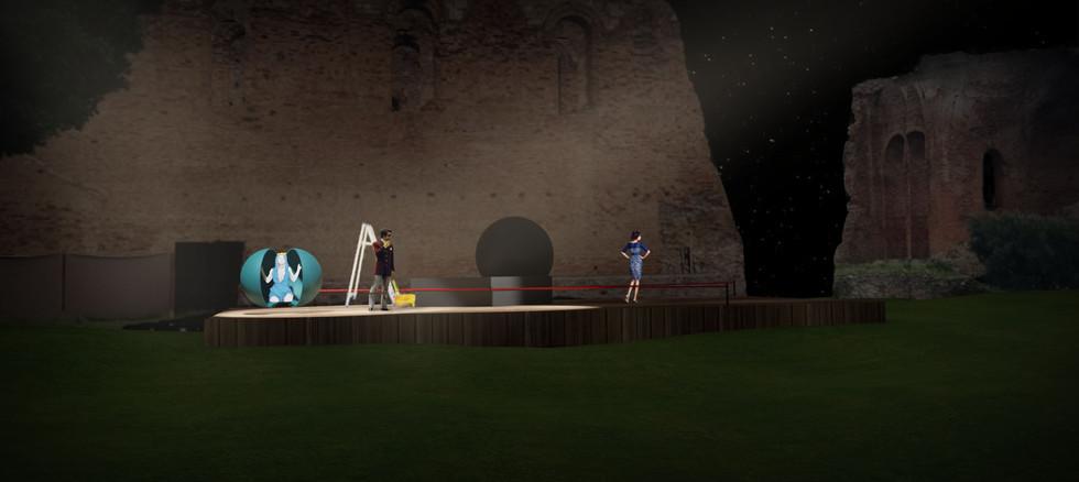 """""""Tosca Atto III° Opera"""" Scolacium - Cala"""