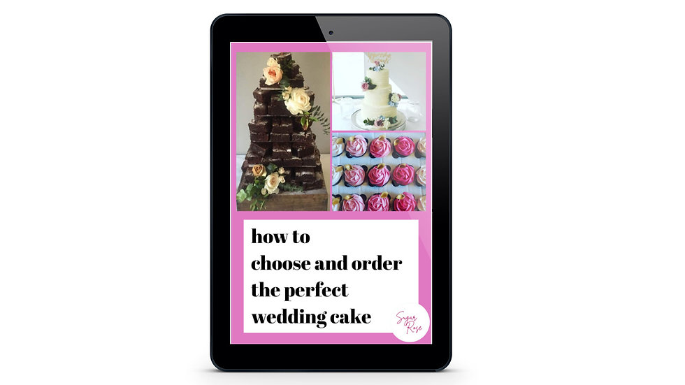 How to choose and order the perfect wedding cake
