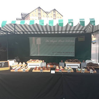 All set up in the sunshine! Come down an
