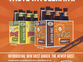 New Grist Ginger and HUB Cider to participate in CiderWISE 2016