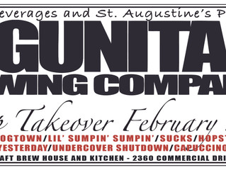 Mind-Blowing 10-Tap Takeover at St. Augustine's featuring rare and delectable LAGUNITAS brews!!