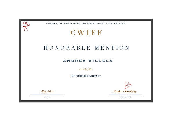 32. Honorable Mention - Before Breakfast