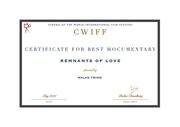 7. Best Mocumentary - Remnants of Love.j