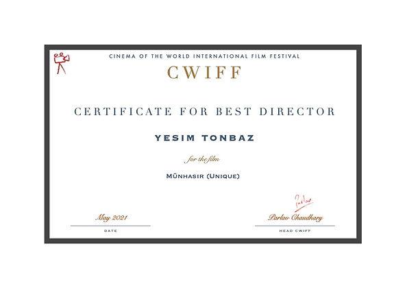 8. Best Director - Münhasır (Unique).jpg