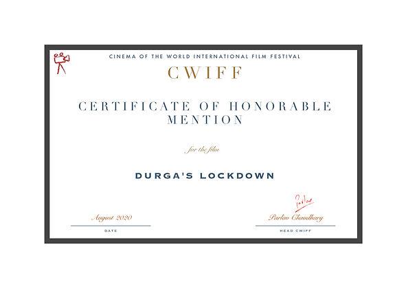 1.11 Honorable Mention Durga's Lockdown.