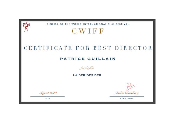 1.1 Best Director (Motion Picture) - La