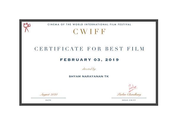 1.4 Best Film (Fantasy) - February 03, 2
