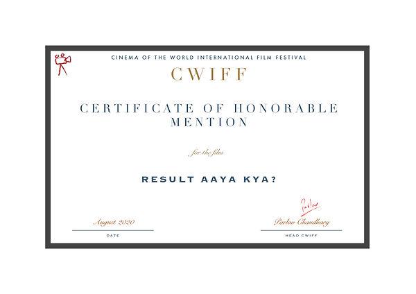 1.6 Honorable Mention Result Aaya kya?.j