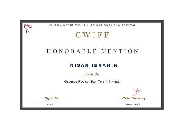 35. Honorable Mention - George Floyd- Sa