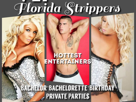 Tampa's Hottest Female & Male Strippers | Tampa Florida | VIP Florida Strippers 813-563-3037