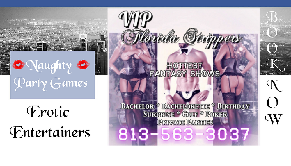 Hottest Female & Male Strippers in Tampa, Clearwater, and St. Petersburg