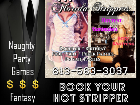 Tampa Strippers ~ Hottest Female Entertainers in Tampa, Clearwater, St. Petersburg 813-563-3037