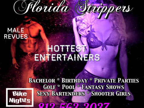 Tampa Strippers ~ Hottest Female and Male Entertainers for Parties