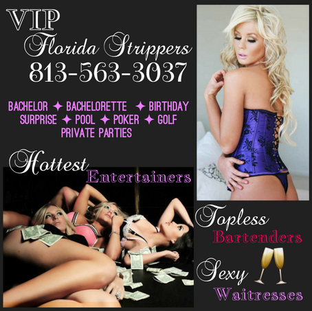 Hottest Florida Strippers + Topless Bartenders + Sexy Waitress