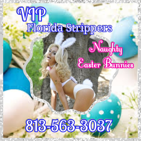 Naughty Easter Bunny Strippers