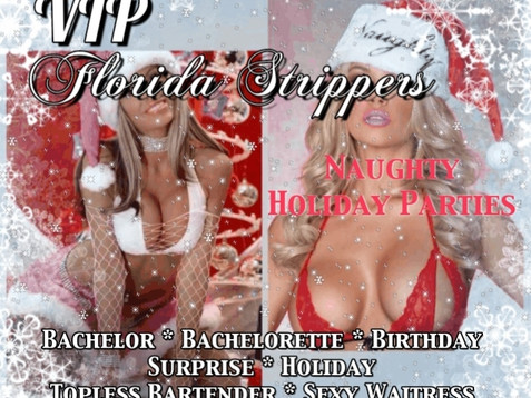 Holiday Stripper Parties ~ Hottest Female & Male Entertainers in Tampa, Clearwater, St. Petersbu