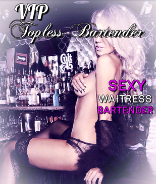 Female Topless Bartender