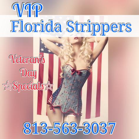 Happy Veterans Day Strippers * Bartenders * Waitress