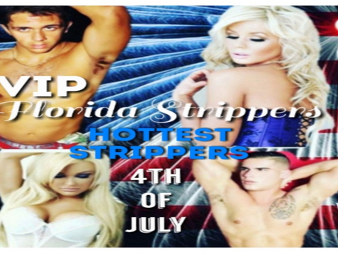 Hottest 4th Of July Strippers   Tampa Florida   VIP Florida Strippers 813-563-3037