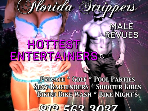 Tampa Stripper's ~ Happy 4th of July ~ Erotic Female and Male Entertainers for Your Event or Par