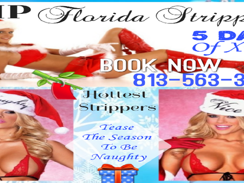 Tease The Season To Be Naughty | Holiday Party Strippers | Tampa ▪ Clearwater ▪ St. Petersburg