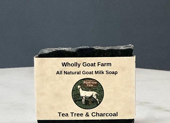 Goat Milk Soap - Tea Tree & Charcoal