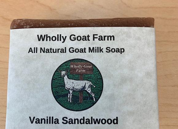 Goat Milk Soap - Vanilla Sandalwood