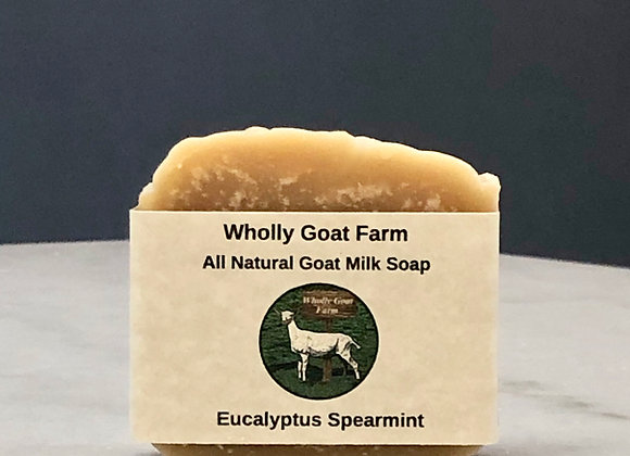 Goat Milk Soap - Eucalyptus and Spearmint