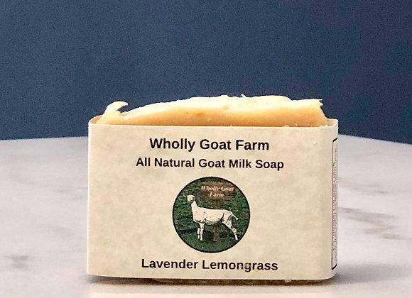 Goat Milk Soap - Lavender Lemongrass