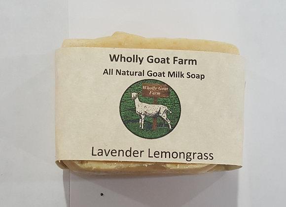 Goat Milk Soap - Lavender and Lemongrass