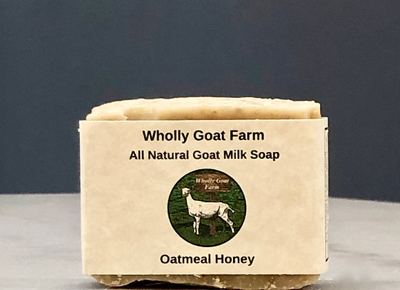 Goat Milk Soap - Oatmeal Honey