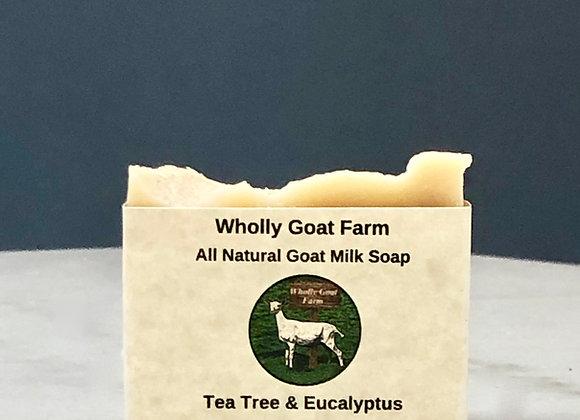 Goat Milk Soap - Tea Tree & Eucalyptus