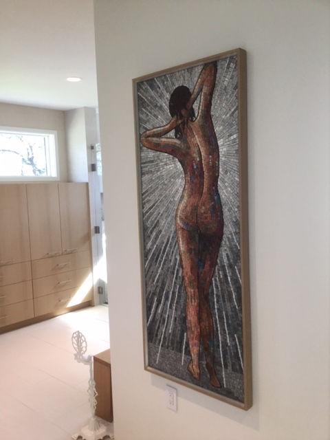 Female Nude wall hangng