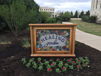 Healing Garden Sign