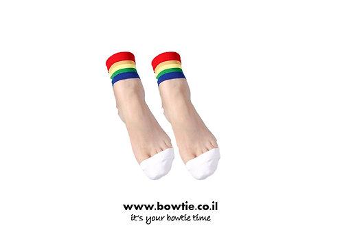 גרביים שקופים ריינבו